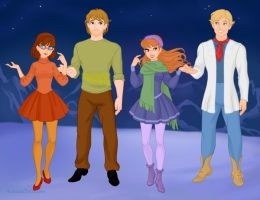 Scooby Doo Request by M-Mannering
