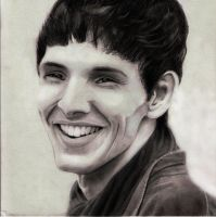 Colin Morgan as Merlin by Naesagern