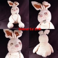 Ernie Da Bunny Plush ooak by Undead-Art