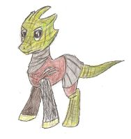 Silurian pony by demented-Mr-Paulsen