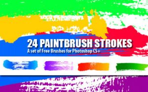 Paint Strokes: PS Brushes by fiftyfivepixels