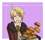 Yay Hamburgers by Itachei