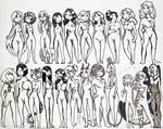 [DD] Beauty in many shapes - female edition by Szczurzyslawa