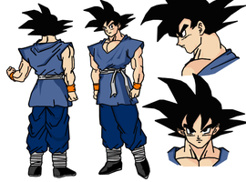 Goku Character Design Sheet by darkhawk5
