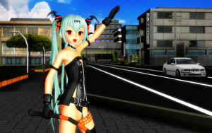 MMD Hey Taxi ... !! by Trackdancer