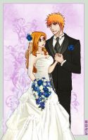 IchiHime Wedding 2 by KS-99