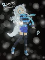 Gift: Rayray paperchild by ICanReachTheStars