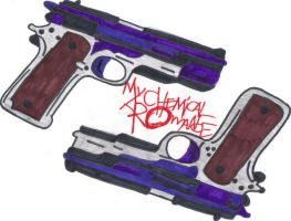 MCR Guns by Art-is-life22