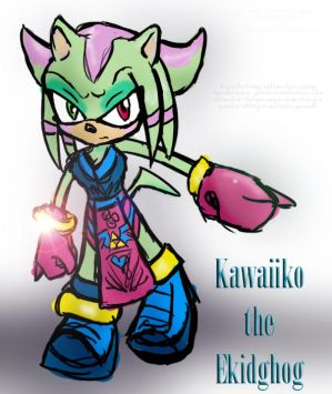 Kawaiiko the Ekidghog