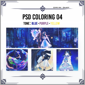 PSD Coloring 04 by Crazy-Rein