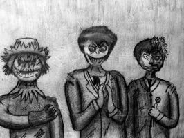Three kinds of evil. by SALT--WATER