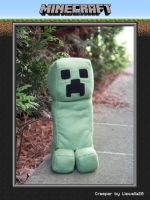 Creeper Plushie by llewella20