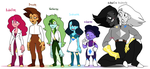 All the Tourmalines by MsMannie