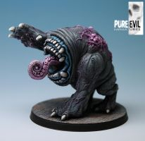 QU-SH-UG aka The Tickler Painted by PureEvilMiniatures