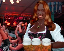 Astrid Summers Invites You to Oktoberfest at the G by Paudraic