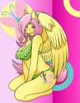FlutterShy Pinup by Striker479