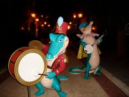 Alligator Musical Group WDW by WDWParksGal-Stock