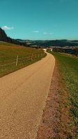 Country road into some autumn scenery by patrickjobst