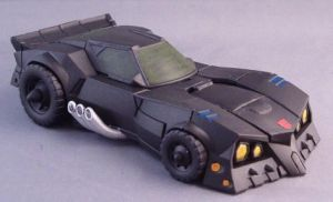 Transformers Batman Batmobile by Shinobitron