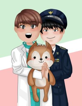 Seventeen - Mingyu and Wonwoo Day by notvanessalee