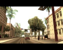 Walking in San Andreas [ streets ] by XDmoney