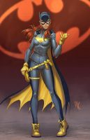 Batgirl by Wesflo