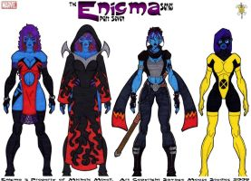 Enigma Series - Part Seven by SavageMouse