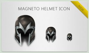 Magneto Helmet Icon by bisiobisio