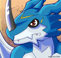 EXVEEMON by twistyness