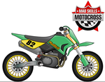 mad skill motocross iphone official art by cavalars