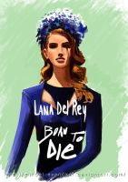 Lana Del Rey - Born To Die by MikaMaus