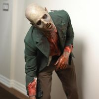Zombie Prosthetic Makeup by VictorianSpectre