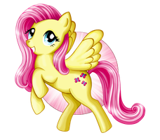 My Little Pony Fluttershy by KawaiiKammi