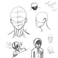 Male Practice 1 by HorrorshowMania