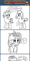 Ask Manehattan Babs #38 by wildtiel