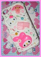First Decoden Phone Case by JennyLovesKawaii