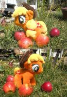 Applejack Plush by Risocaa