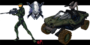 .Halo Stuff. by xGeekpower