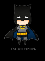 I'm Batman. by Magicharu
