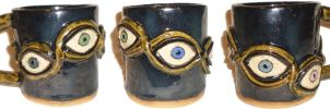 Eye Cup #23 by aberrantceramics
