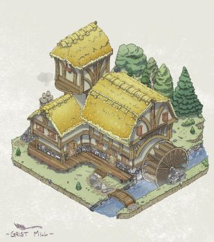 Grist Mill gif by Joudrey