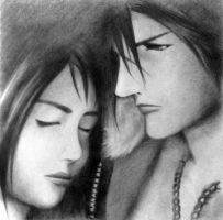 Squall and Rinoa by firewyvern91
