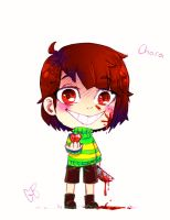 Chara by geneticbattalion