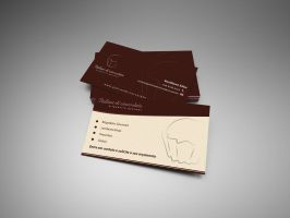 Corporate Card Palline di cioccolato by zecah