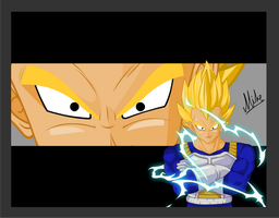 Dragon Ball Z Vegeta by Balnazar