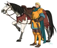 Phoebus and Achilles by RyukiGaryu