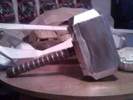 Thor's Hammer, Mjolnir by ZombieGrimm
