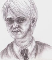Draco Malfoy by LeahRosslyn