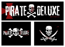 Pirate Deluxe Patches by misfitmalice