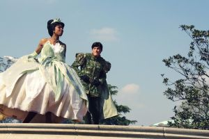 Princess Tiana and Naveen by Mlle-Dreamer